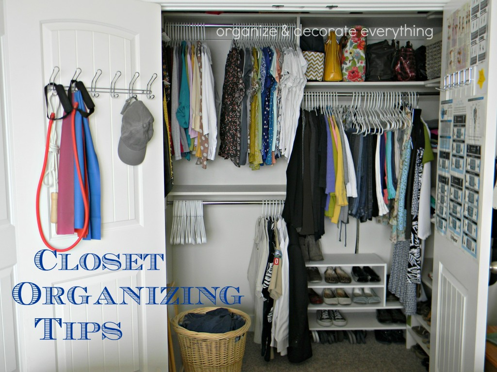 Easy Closet Organization Tips